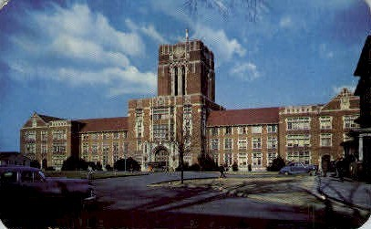 Ayers Hall, University of Tennessee - Knoxville Postcard
