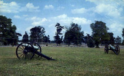 Battle of Stones River - Misc, Tennessee TN Postcard