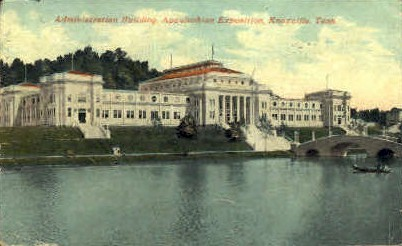 Administration Building  - Knoxville, Tennessee TN Postcard