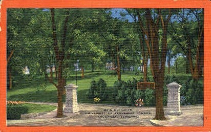 University of Tennessee Campus  - Knoxville Postcard