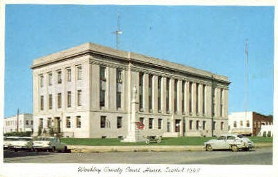 Weakly County Court House - Misc, Tennessee TN Postcard