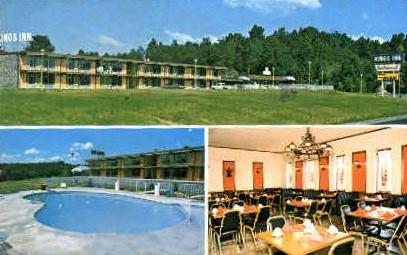 King's Inn Motel  - Lenoir City, Tennessee TN Postcard