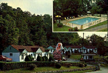 Lookout Mountain Tourist Lodge  - Chattanooga, Tennessee TN Postcard