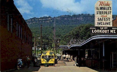 The Incline Station, Lookout Mountain - Chattanooga, Tennessee TN Postcard
