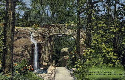 Rock City Gardens - Chattanooga, Tennessee TN Postcard