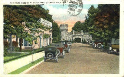 War Relic Museum  - Lookout Mountain, Tennessee TN Postcard