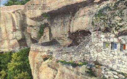 Rainbow Hall, Rock City Gardens - Lookout Mountain, Tennessee TN Postcard