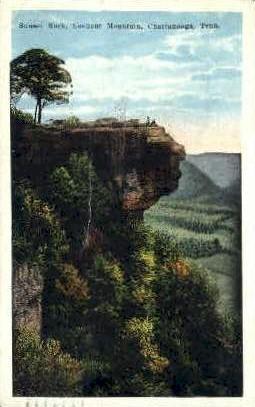 Sunset Rock, Lookout Mountain  - Chattanooga, Tennessee TN Postcard