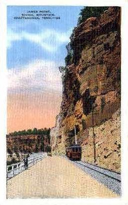 James Point, Signal Mountain  - Chattanooga, Tennessee TN Postcard