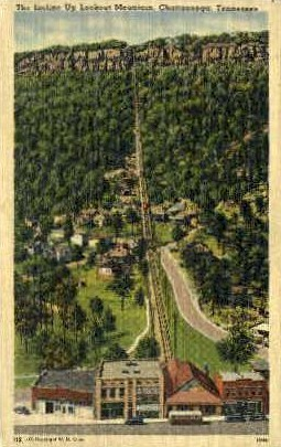 The Incline, Lookout Mountain  - Chattanooga, Tennessee TN Postcard