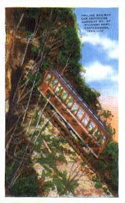 Incline Ra - Chattanooga, Tennessee TN Postcard