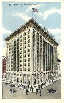 Hotel Patten - Chattanooga, Tennessee TN Postcard