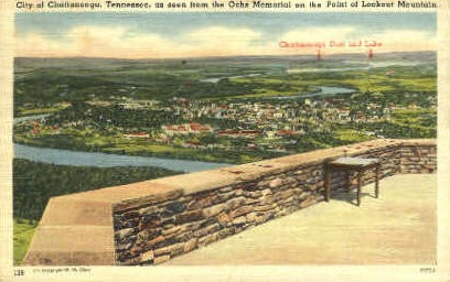 City of Chattanooga  - Lookout Mountain, Tennessee TN Postcard