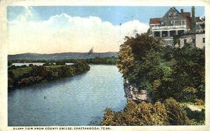 County Ridge  - Chattanooga, Tennessee TN Postcard