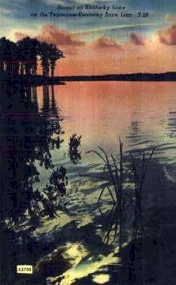 Kentucky Lake - Misc, Tennessee TN Postcard