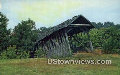 Dying Bridge - Bristol, Tennessee TN Postcard