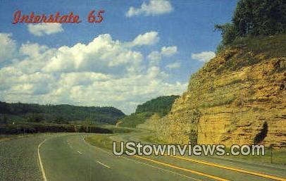 Interstate 65 - Misc, Tennessee TN Postcard