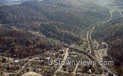 Pinnacle Mountain - Cumberland Gap, Tennessee TN Postcard