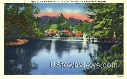 Old Swimming Hole - Misc, Tennessee TN Postcard