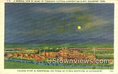 Tennessee Eastman Corp Plant - Kingsport Postcard