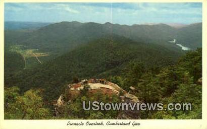 Pinnacle Overlook - Cumberland Gap, Tennessee TN Postcard