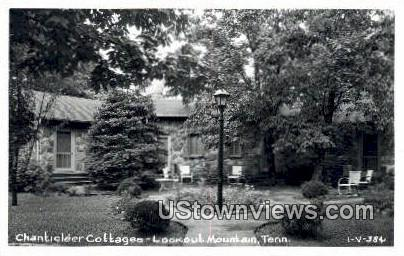 Real Photo - Chanticleer Cottages - Lookout Mountain, Tennessee TN Postcard