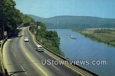 Tennessee River - Lookout Mountain Postcard