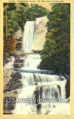 Connestee Falls, TN,, Connestee Falls, Tenn, Tennessee Postcard