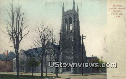 Second Presbyterian Church - Knoxville, Tennessee TN Postcard