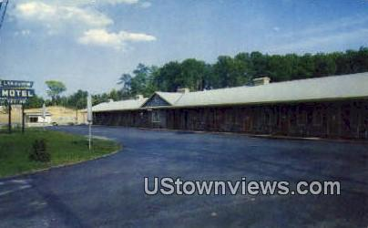 Lakeview Motel - Knoxville, Tennessee TN Postcard