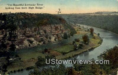 Kentucky River - Chattanooga, Tennessee TN Postcard