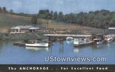 Riverlake Lodge - Knoxville, Tennessee TN Postcard