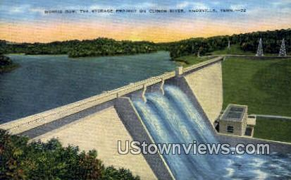 TVA Storage Project - Knoxville, Tennessee TN Postcard
