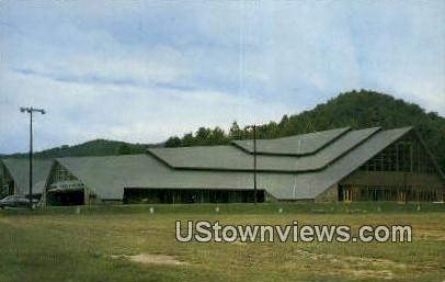 Gatlinburg Civic Aud. - Tennessee TN Postcard