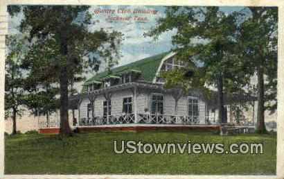 Country Club Bldg - Jackson, Tennessee TN Postcard