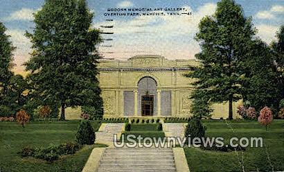 Brooks Memorial Art Gallery - Memphis, Tennessee TN Postcard