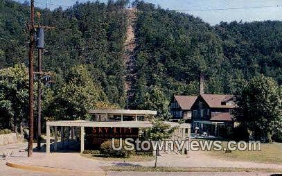 Sky Lift - Gatlinburg, Tennessee TN Postcard
