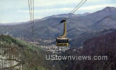 Tramway - Gatlinburg, Tennessee TN Postcard