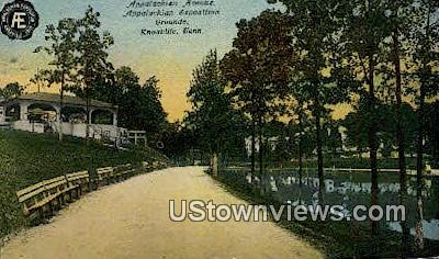 Appalachian Exposition Grounds - Knoxville, Tennessee TN Postcard