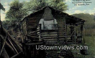 Home of John Sevier - Knoxville, Tennessee TN Postcard