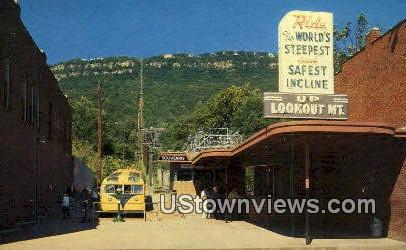 Incline Station - Lookout Mountain, Tennessee TN Postcard