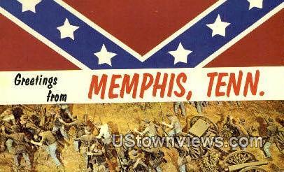 Memphis, Tenn,, Memphis, Tennessee, TN Postcard