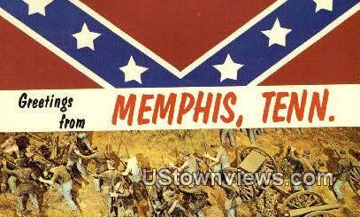 Memphis, TN,, Memphis, Tenn, Tennessee Postcard