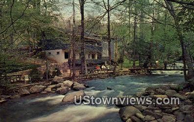 Carr's Northside Cottages - Gatlinburg, Tennessee TN Postcard