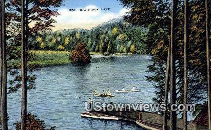 Big Ridge Lake - Knoxville, Tennessee TN Postcard