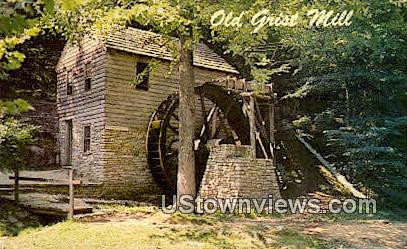 Old Grist Mill - Norris, Tennessee TN Postcard