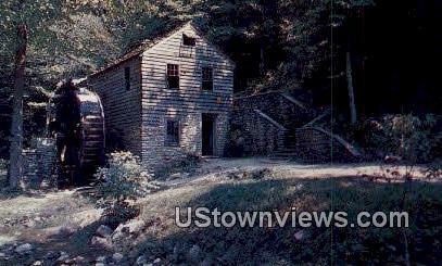 18th Century Grist Mill - Norris Dam, Tennessee TN Postcard