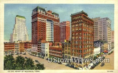 Memphis, Tennessee,, Memphis, TN, Tenn Postcard