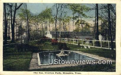 Zoo, Overton Park - Memphis, Tennessee TN Postcard