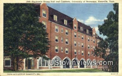 Sophronia Strong Hall, U of Tennessee - Knoxville Postcard
